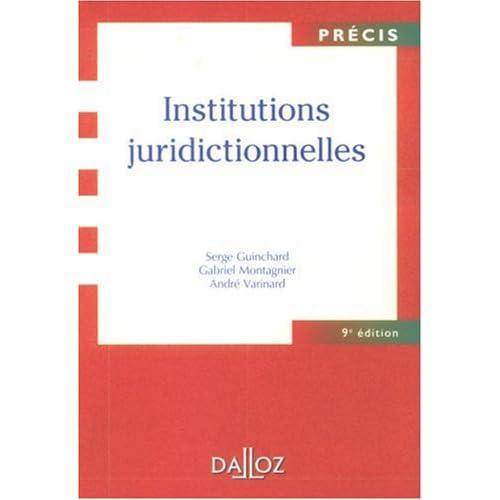 Institutions juridictionnelles