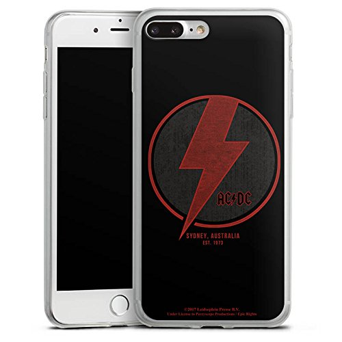 Apple iPhone 6 Slim Case Silikon Hülle Schutzhülle ACDC Sidney Offizielles Lizenzprodukt Silikon Slim Case transparent