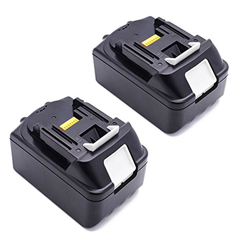 Preisvergleich Produktbild 2 Stück 18V 5.0Ah Li-ion Ersatz Akku für Makita Werkzeug Batterie BL1850 BL1830 BL1840 LXT-400 194205-3 194309-1