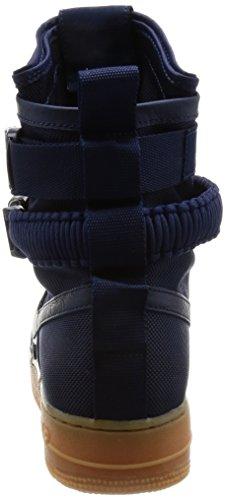 Blouson Nike Sf Air Force One Af1 «triple Noir», Scarpe Da Corsa Uomo Midnight Navy / Midnight Navy