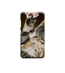 Ebby Premium 3d Desinger Printed Back Case Cover For Nokia Lumia 530 (Premium Desinger Case)