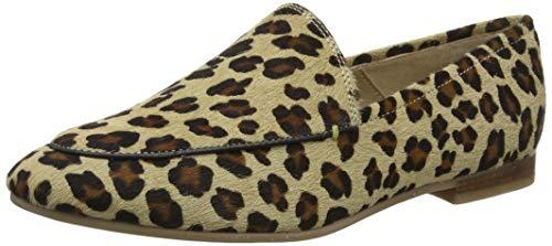 Tom Joule Joules Damen Lexington Luxe Slipper, Braun Leopard, 38 EU - Luxe Leopard