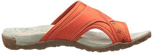 Merrell Terran Post Damen Zehentrenner Rot (Red Clay)