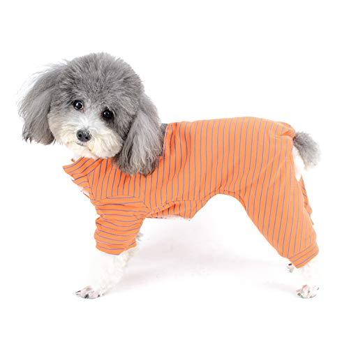 Ranphy Strick-Overall für kleine Hunde, Fleece, für den Winter, für Welpen, für Chihuahua, Yorkshire, Terrier, Hiromi, Winddicht, Halloween, Weihnachten -