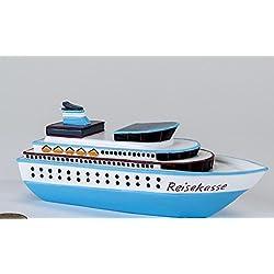 Hucha con forma de barco para viaje