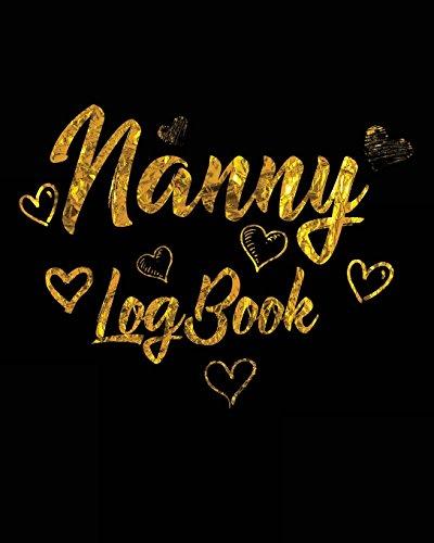 Nanny Log Book: Baby Memory Notebook - Matthews Monitor