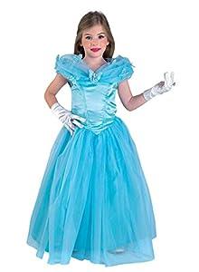 Clown Republic - Disfraz de princesa de cuento de hadas para niña, 26908/08, multicolor