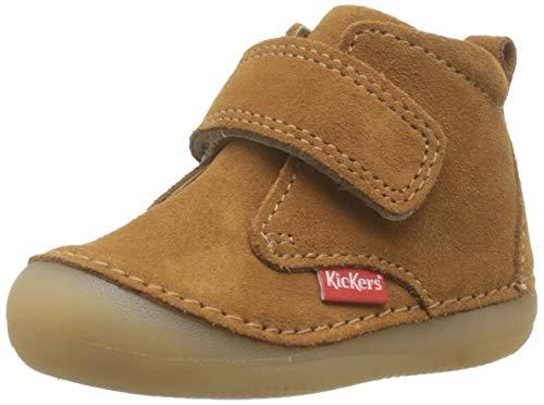 Kickers Sabio, Botas Unisex bebé, Marrón Camel 114, 18 EU
