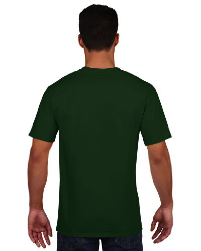 T-Shirt 'Premium Cotton Ring Spun' Forest Green