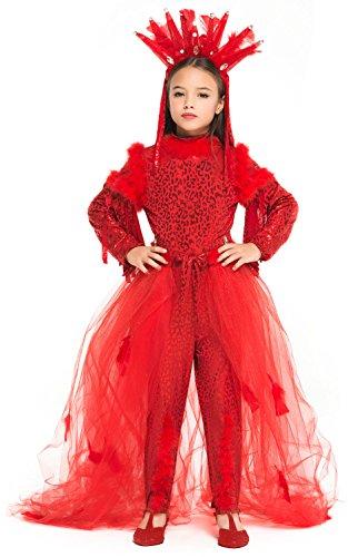 NEVAL PRINCESS OF HELL für KARNAVALKOSTÜME fancy dress halloween cosplay veneziano party 52373 Size 8/M (Diavolo Kostüm Halloween)