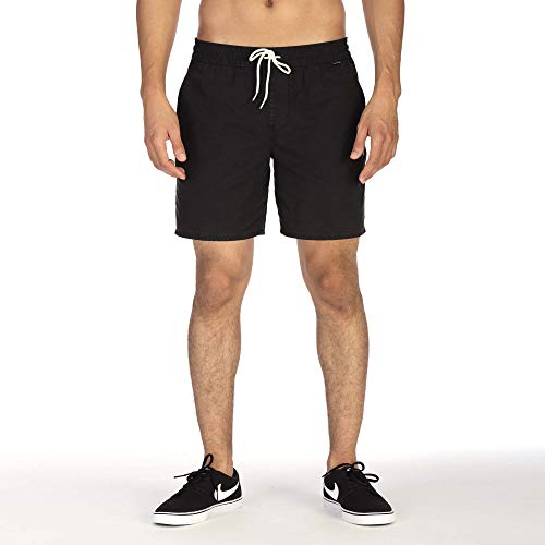 614b7f489213d Hurley Herren M Paranoid Volley 17' Shorts, Black, ...