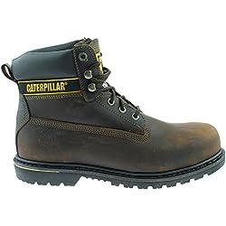Caterpillar , Chaussures de sécurité pour homme - Marron - Marron foncé, 44