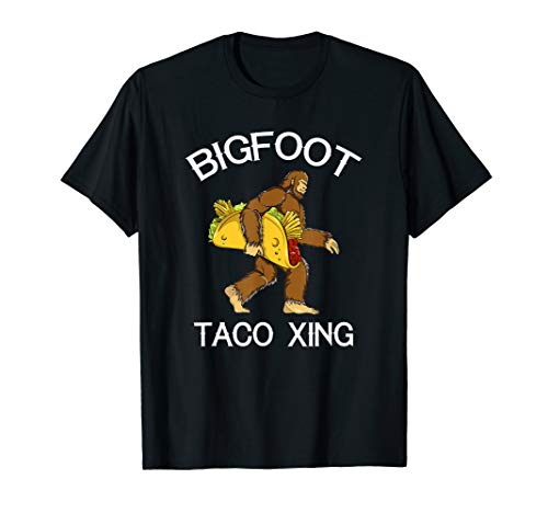 Bigfoot Crossing Sasquatch Yeti Taco-Liebhaber Cinco De Mayo ()