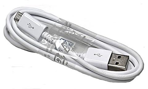 Samsung Handy USB Datenkabel - Ladekabel - 1,5 Meter - für kompatible Samsung Mobiltelefone mit Micro USB Anschluss