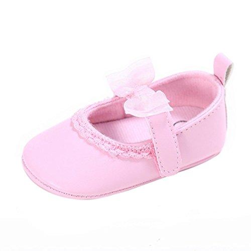 Tefamore Zapatos Bebé Recién Nacido de la Flor Zapatillas Antideslizantes Suaves Niño...