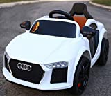 #7: Baybee Audie Battery Operated Ride On Car for Kids with Music, Headlights with 25Kg Weight Capacity - White