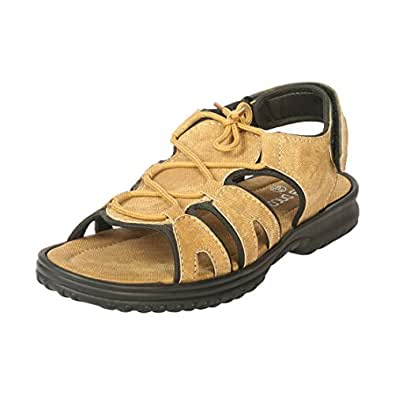 Bacca Bucci Tan Men's Sandals 10 UK