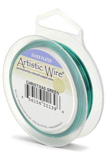 Artistic Wire Beadalon Fil de cuivre Calibre 26 27,43 m fil de Noël Vert