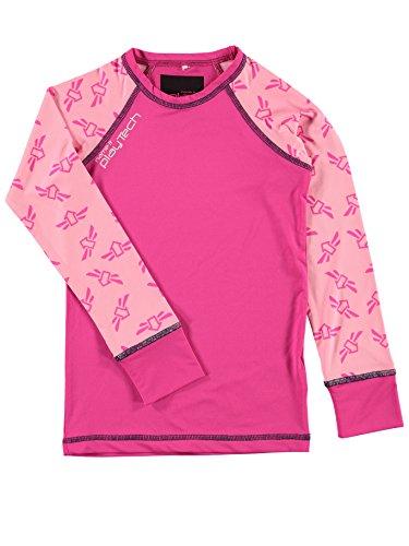 NAME IT Name it Mädchen Funktions Unterwäsche SET Ski & Sport Unterhose / Unterhemd lang BASELAYER 13096459 pink gio Gr. 164