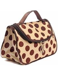 EasyBuy India Zebra Stripe Portable Makeup Cosmetic Case Storage Travel Bag - B07763PTV5