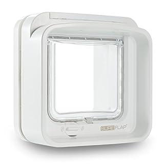 SureFlap Dual Scan Microchip Cat Flap, White 12