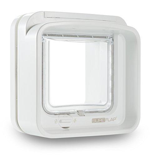 SureFlap DualScan Mikrochip Katzenklappe, weiß