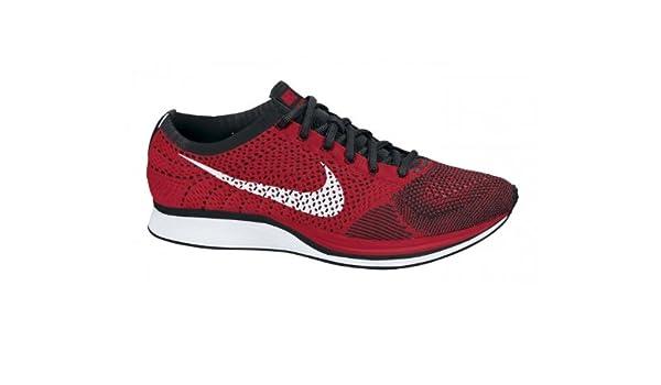 Nike Flyknit Racer Rot Schwarz