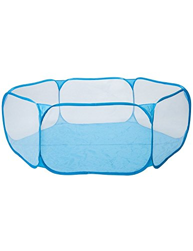 CANALOHA CPT002 - Piscina de Bola de Juego Infantil Plegable Poliéster Azul para Niños , Sin Pelotas