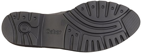 Gabor Shoes 52.666 Damen Slipper Grau (Dark-Grey k.(S.S/C) 49)