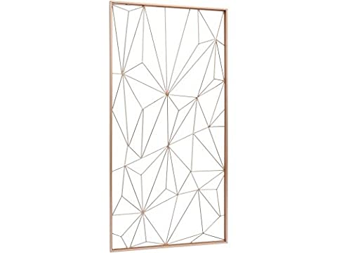 Cupro Copper Web Metal Wall Art