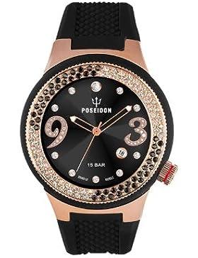 Kienzle Damen-Armbanduhr POSEIDON Lady Analog Quarz Silikon K2112033033-00426
