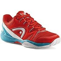 Head Junior Tennisschuhe NZZZO All Court Red/Malibu-Blue
