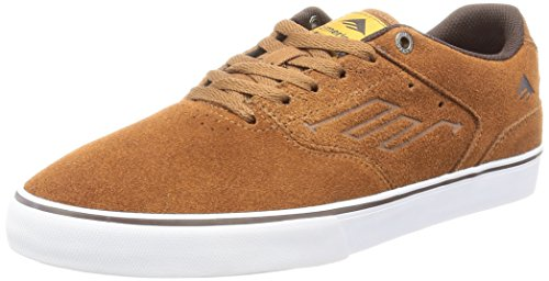 emerica-herren-the-reynolds-low-vulc-skateboardschuhe-marron-brown-white-gum-218-42-eu