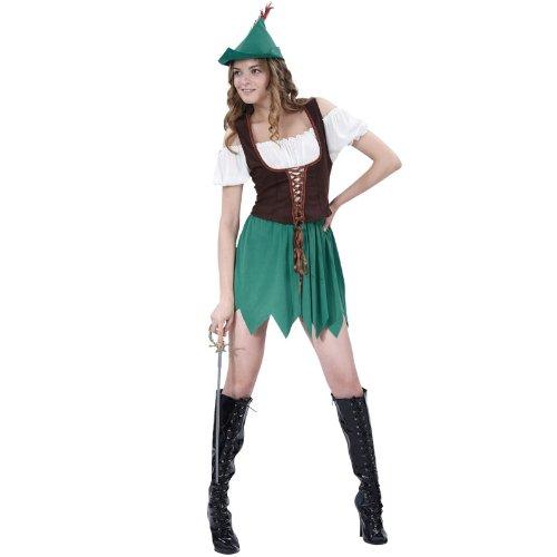 Bristol Novelties Robin Hood-Lady-Kostüm