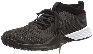 check out 40eda cd46b Image indisponible. Image non disponible pour la couleur   adidas  Crazytrain Pro 3.0, Chaussures de Fitness Femme, Gris (Carbon Core Black