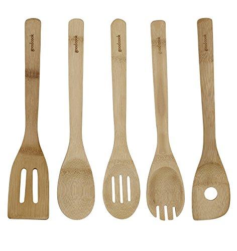 Good-Cook-Ensemble-de-5-ustensiles-en-bambou