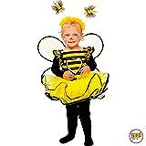 Mottoland Kinder Kostüm Baby Biene Kleinkind Mädchen Kleid Kita Fasching: Größe: 86