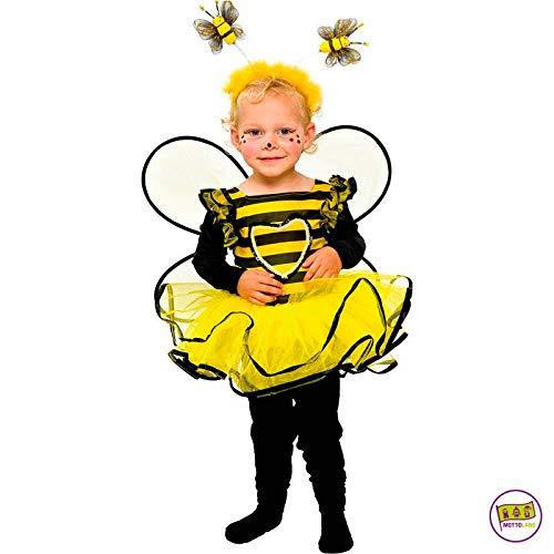 tüm Baby Biene Kleinkind Mädchen Kleid Kita Fasching: Größe: 86 ()