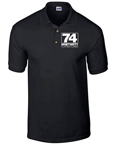 t-shirtshock-polo-tb0150-nine-thirty-flat-six-turbo-porsche-taille-l