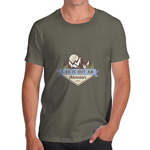 TWISTED ENVY  Herren T-Shirt Khaki