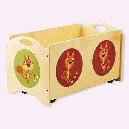 Dida - Baúles para niños - Pancotti con cervatos, ciervos y ardillas