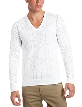 Puma Men's Urban Mobility Graphic Long Sleeve Knit Top Black 554731-01 Small