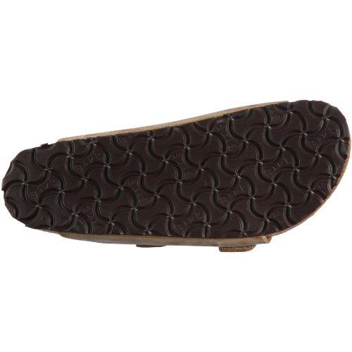 Birkenstock Classic Arizona Leder Unisex-Erwachsene Pantoletten Braun (Tabacco Brown)