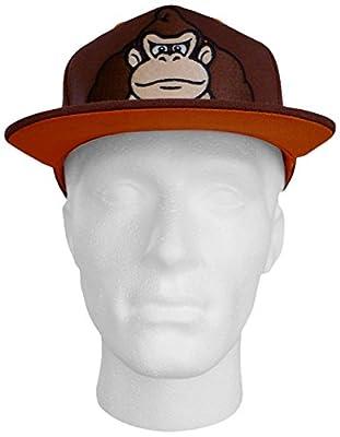 Nintendo Donkey Kong Snap Back Cap Braun [import allemand]
