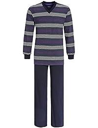Ringella Pyjama homme grande taille Marine, Noir, Violet