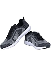 Seven By Ms Dhoni Men's Knitted Mesh Running Shoe