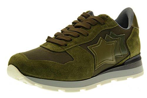 ATLANTIC STARS uomo sneakers basse ANTART AMM 63N Verde