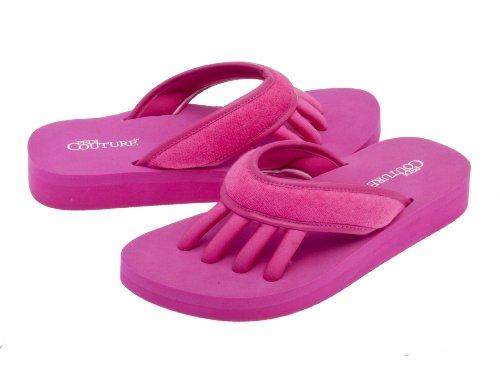 Pedi Couture SPA Pediküre Sandale Rosa, Größe M