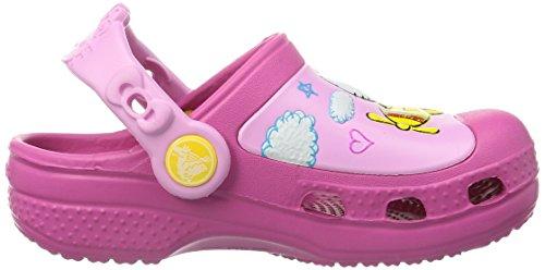 Crocs CC Hello Kitty Plane Clog K, Zoccoli e sabot, Unisex - bambino Rosa (Fuchsia)