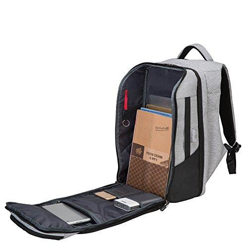 Anti-Diebstahl-USB-Lade Männer Rucksack Business Stilvolle Reiserucksack